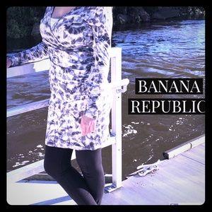♦️SALE♦️BANANA REPUBLIC Dress Med LCOTTON STRETCHY